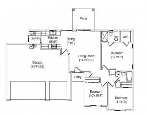 1108 Seville Floor Plan